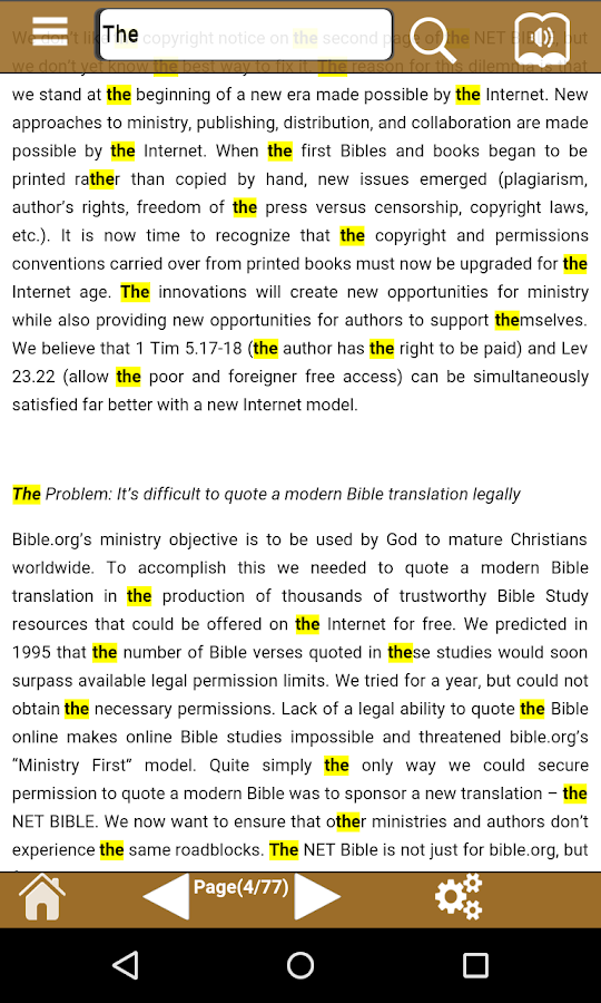 The NET Bible- screenshot