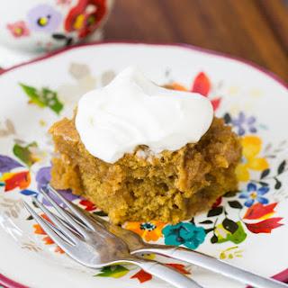 Brown Butter Pumpkin Rum Cake