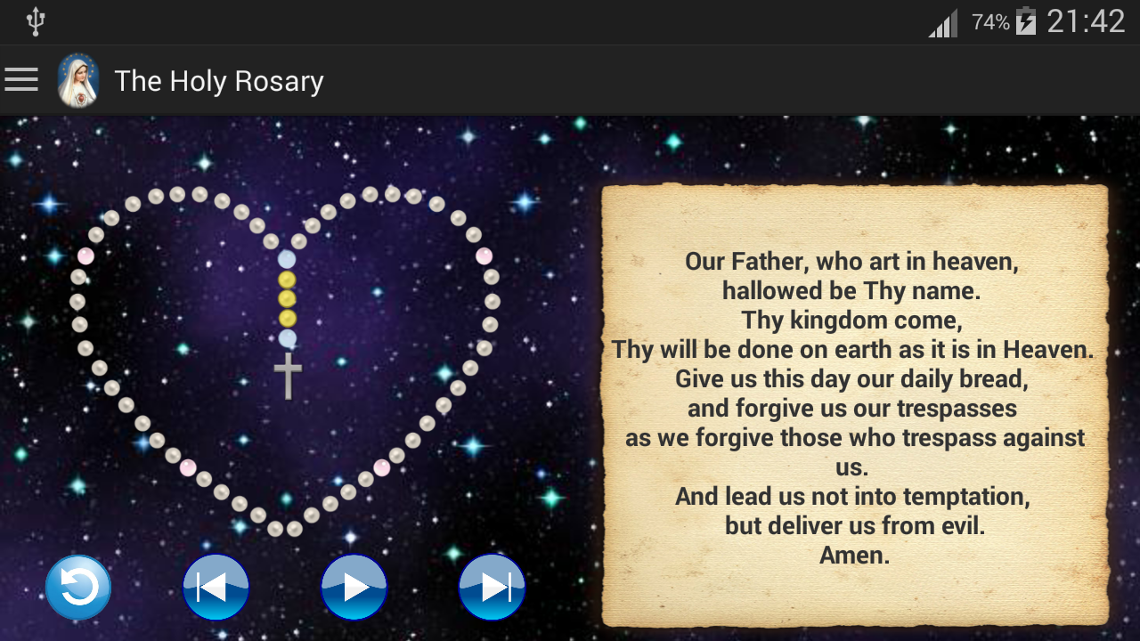 The Holy Rosary- screenshot