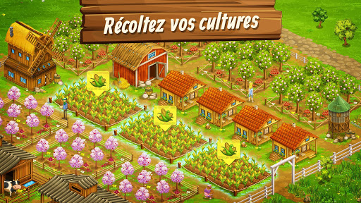 Big Farm: Mobile Harvest | jeu de ferme gratuit  captures d'écran 1