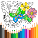 Coloring Book for Adults 🎨 HoliColoring icon