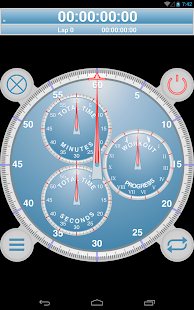 Analog Interval Stopwatch Pro- screenshot thumbnail