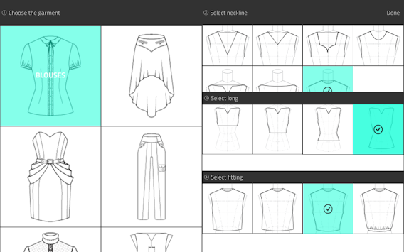 Fashion Design Flat Sketch APK screenshot thumbnail 7