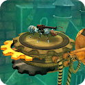 Iron Ant-robot bugs shooting battle icon