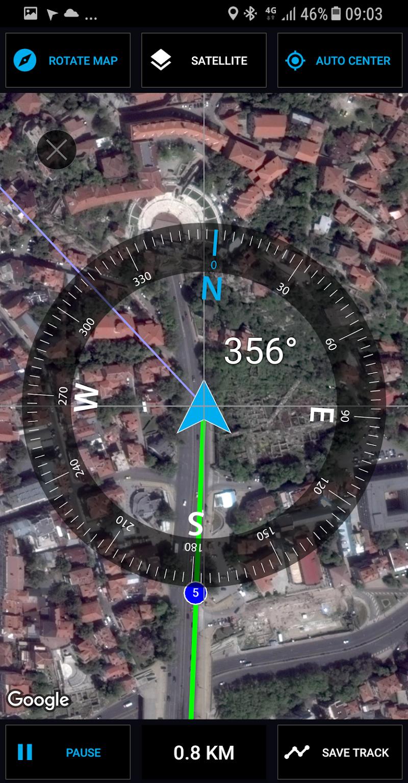 GPS Compass Navigator Screenshot 1