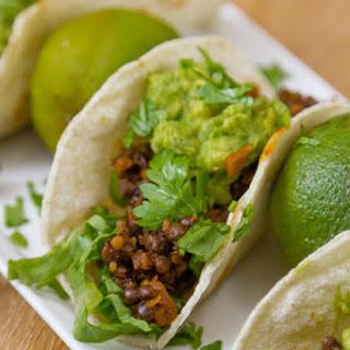 Easy Lentil Tacos with Smashed Avocado Recipe