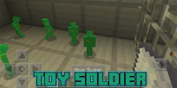 Toy Soldier Add-on for MCPE - náhled