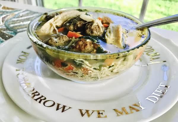 Incredible Italian Wedding Soup