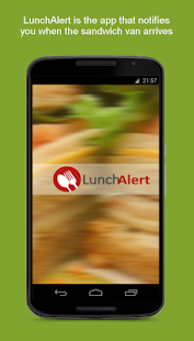 LunchAlert- screenshot thumbnail