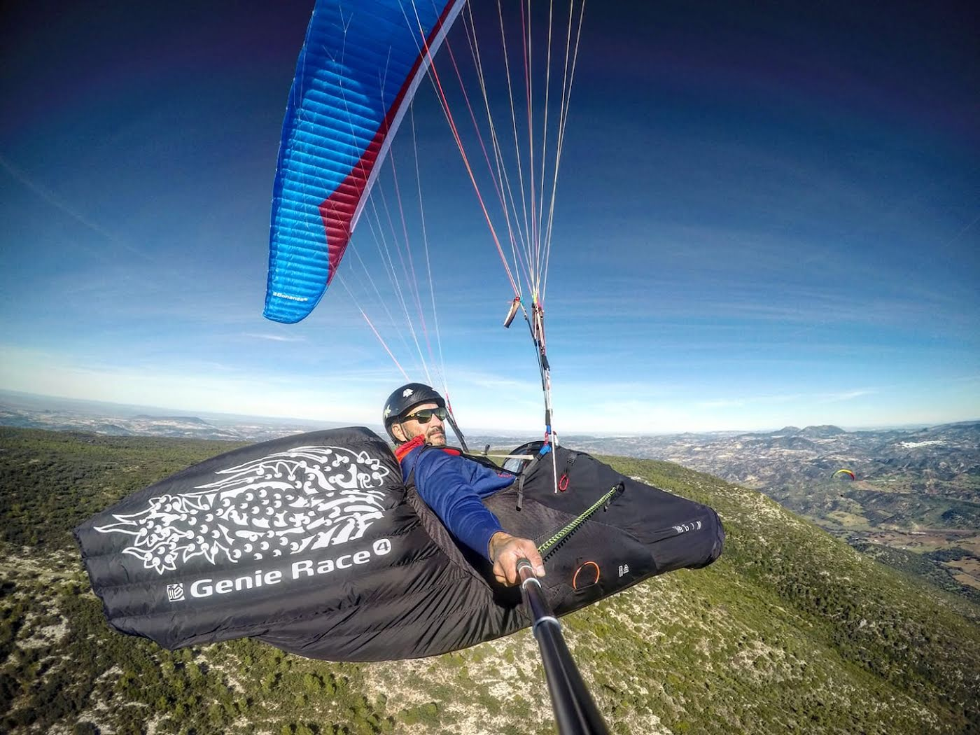 Our Man Stan on winning paragliding street this Summer!