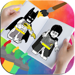 Coloring Book for Super Lego Heroes Icon
