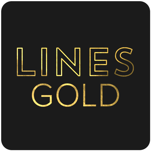Lines Gold - Icon Pack (Pro Version) APK Cracked Download