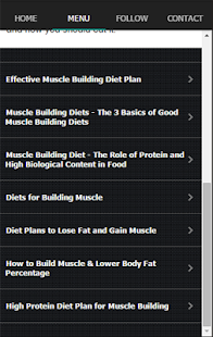 Ultimate Muscle Building Diet Screenshot Thumbnail