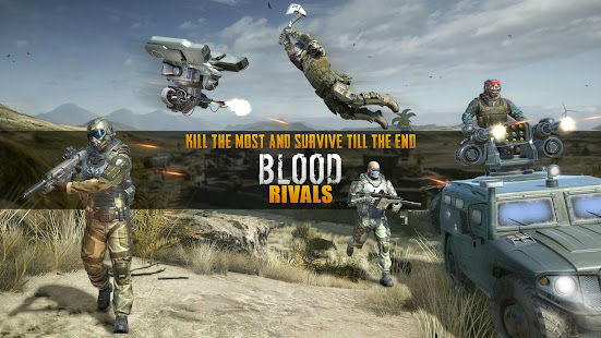 Blood Rivals - Survival Battleground FPS Shooter v2.3 APK Data Obb Full