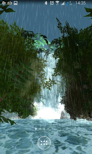 Jungle Waterfall 3D LWP FREE