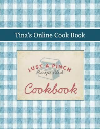 Tina's Online Cook Book