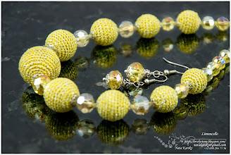 Photo: The Сrocheted Limoncello Beads - Лімончелло
