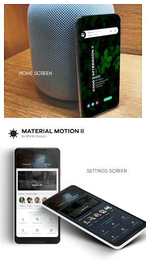 MATERIAL MOTION II for KLWP screenshots 3