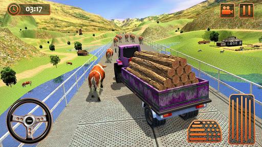 Farm Tractor Cargo Driving Simulator 20 1.5 screenshots 9