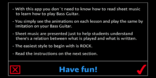 Learn how to play Bass Guitar- screenshot thumbnail