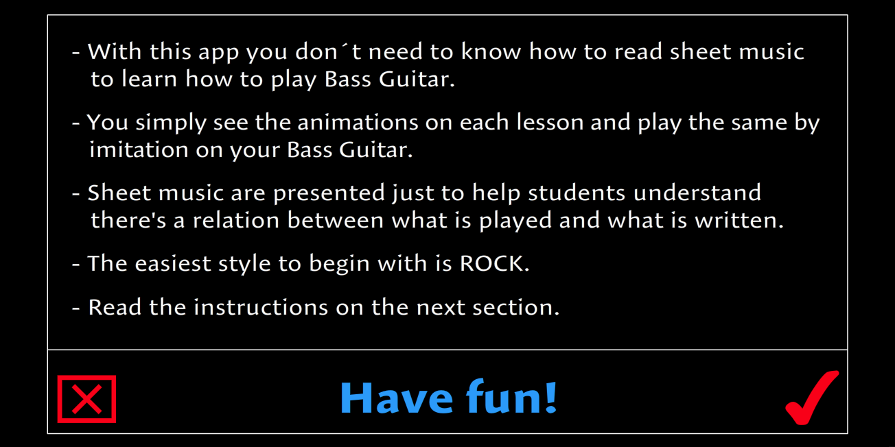 Learn how to play Bass Guitar- screenshot