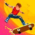 Halfpipe Hero - Retro Skateboarding Arcade Action