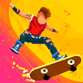 Halfpipe Hero - Skateboarding Game Arcade