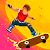 Halfpipe Hero - Retro Skateboarding Arcade Action file APK Free for PC, smart TV Download