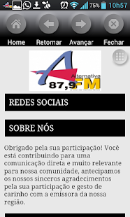 Rádio Alternativa Venda Nova- screenshot thumbnail