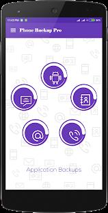 Phone Backup Pro - náhled