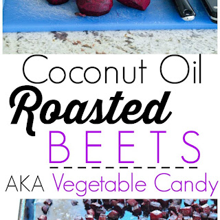 Coconut Oil Roasted Beets