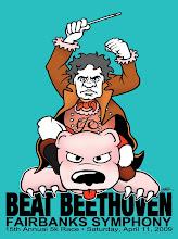 "Photo: Fairbanks Symphony ""Beat Beethoven"" tshirt design"