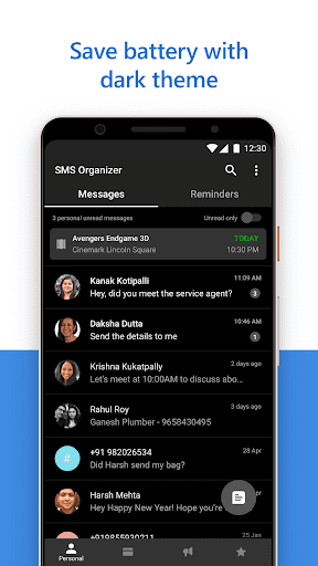 SMS Organizer screenshot 5