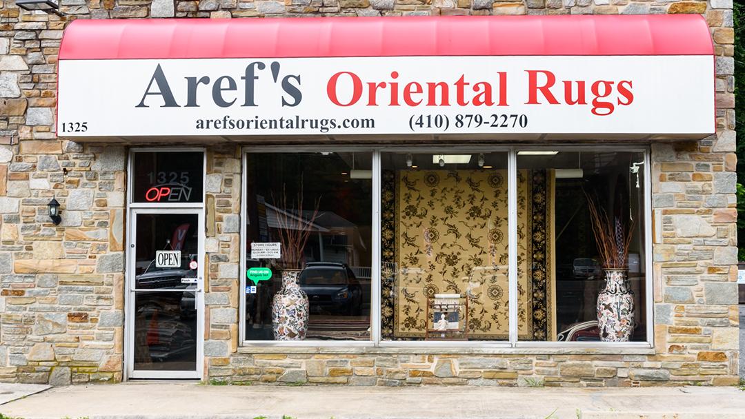 Aref's Oriental Rugs - Rug Store in Bel Air