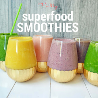 6 Superfood Smoothies.