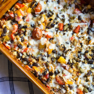 Healthy Mexican Casserole with Quinoa
