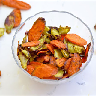 Carrot and Broccoli Chips