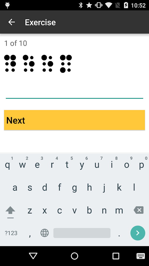 Braille Helper- screenshot