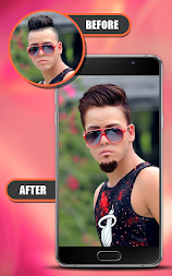 Smart Hair Style-Photo Editor APK screenshot thumbnail 3