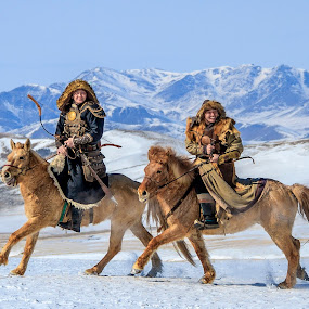 Eagle Festival 2016.Mongolia by Steel Hero - People Portraits of Men