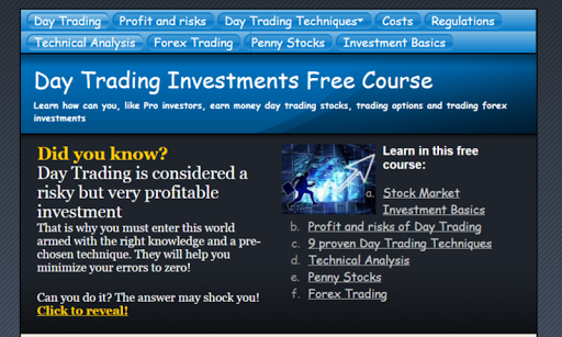 Day Trading Course Dow Jones