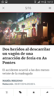 La Voz de Galicia - náhled