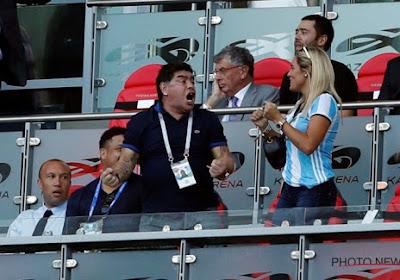 Diego Maradona n'épargne pas l'équipe nationale argentine