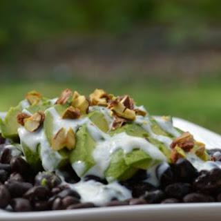 Belly Fat Burning Black Bean Avocado Salad.