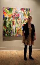 Photo: Vanessa McGowan @ Winter Snow Ball @ Urban Gallery Jan 2014