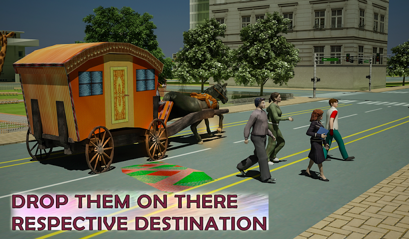 android Horse Carriage Transport Drive Screenshot 14