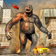Gorilla Smash City Big Foot Monster Rampage