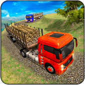Euro Truck Driving Games : Log, Cargo Transporter