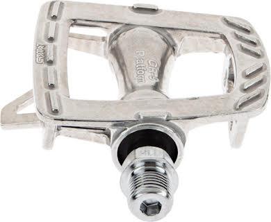 MKS GR-9 Platform Pedals, Silver alternate image 4