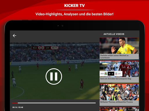 kicker Fuu00dfball News 5.7.0 screenshots 13